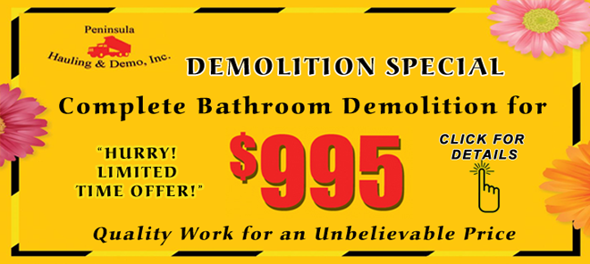 Complete Bathroom Demolition
