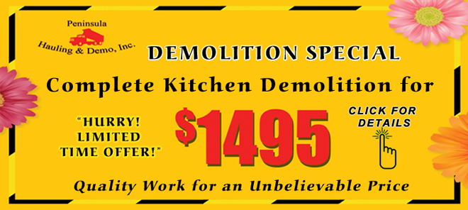 Complete Kitchen Demolition