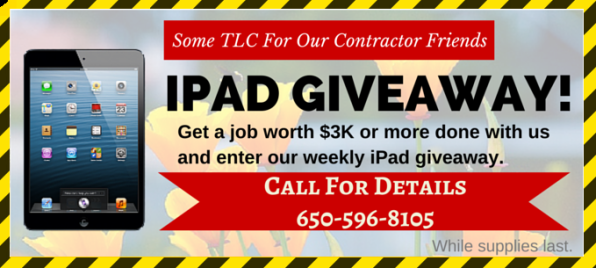 Spring Contractors iPad Giveaway