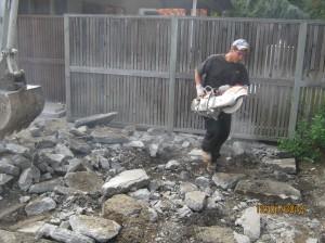 Concrete Patio Removal